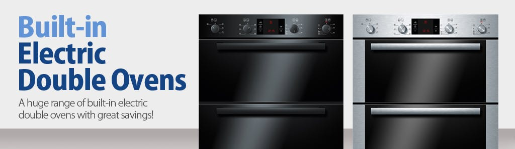 our stunning range of electric double ovens not only look great but provide a remarkable level of versatility and perfect for any size