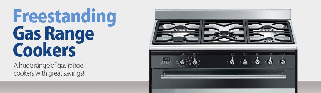plan your kitchen and enhance your cooking skills with sonic wide selection of gas range cookers with more hobs multiple grills and double ovens
